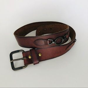 J. Crew brown leather belt